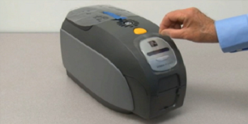 zebra smart card printer